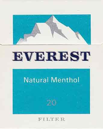 "Пачка сигарет ""Эверест"""